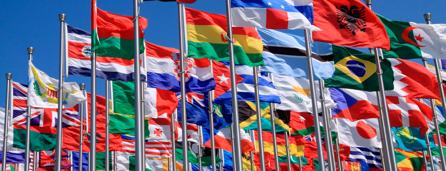 Image result for strip of world flags